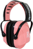 radians remington hearing protector earmuff pink